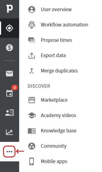 Screen - integration with Pipedrive